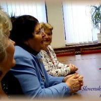 Prijatie pani prof. Moniky Krohwinkel v Slovenskej národnej rade